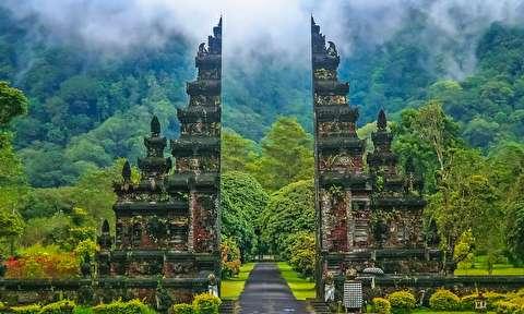 طبیعت زیبای اندونزی