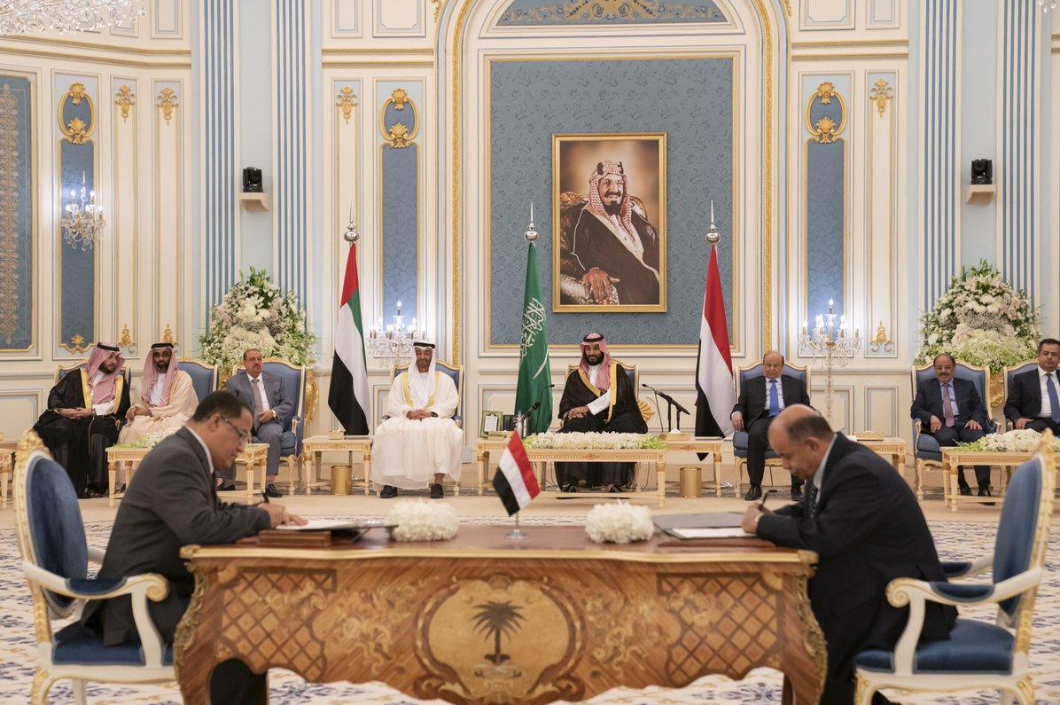توافق عربستان و امارات برای تقسیم قدرت در یمن