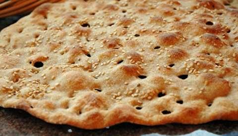طرز تهیه نان سنگک