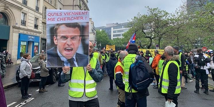 فرانسه بیش از ۱۰هزار جلیقهزرد را دستگیر کردهاست