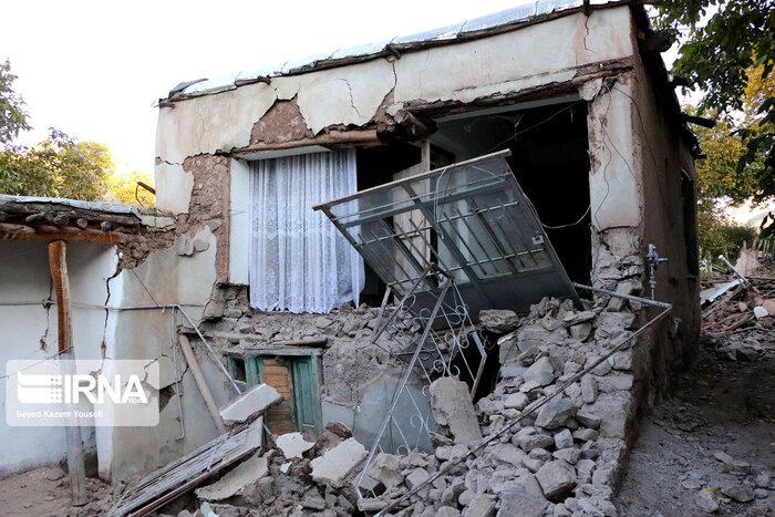 موج سرما به مناطق زلزله زده وارد میشود