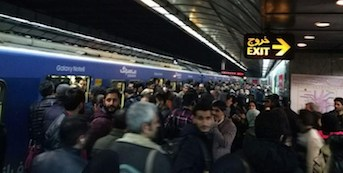 اختلال در خط ۲ مترو صدای مسافران را در آورد