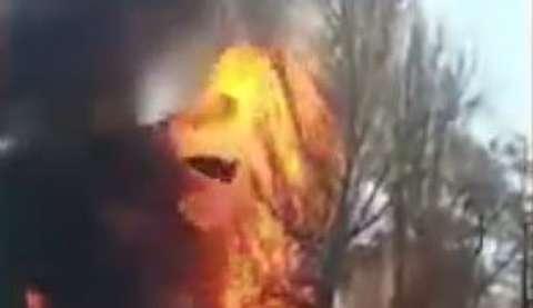 انفجار بزرگ یک کافه در قرقیزستان