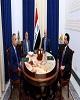 مخالفت رهبران سه گانه عراق با حل امنیتی تظاهرات و تاکید...