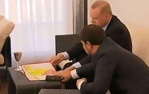 گاف عجیب اردوغان در دیدار با پوتین