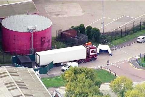 کشف 39 جسد در یک کامیون در لندن