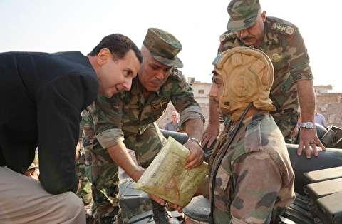 اسد: اردوغان زمانی نفت میدزدید و حالا زمین
