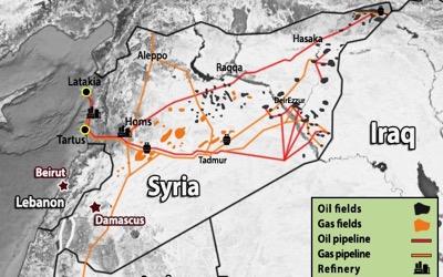آغاز جنگ نفتی در سوریه با بازیگری آمریکا و روسیه!
