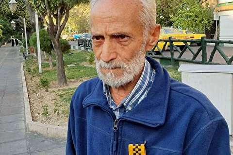 راننده تاکسی پاکدستی که شهروند نمونه شد