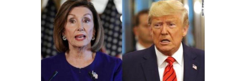 ترامپ: رئیس مجلس یک دموکرات بیخاصیت است