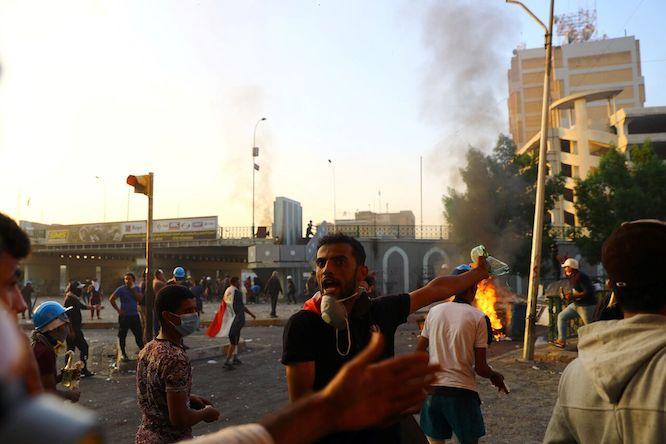انفجار در میدان تحریر بغداد با یک کشته و ۱۶ زخمی