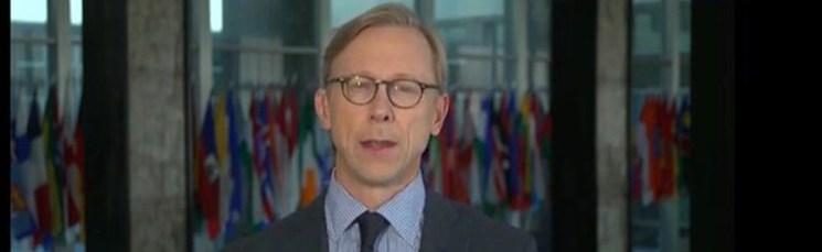 برایان هوک: از اعتراضها در ایران بسیار خشنودیم
