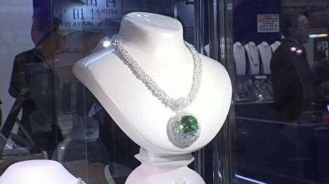 سرقت الماس یک میلیون و هشتصد هزار دلاری