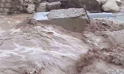 طغیان رودخانه فصلی مونه لرستان