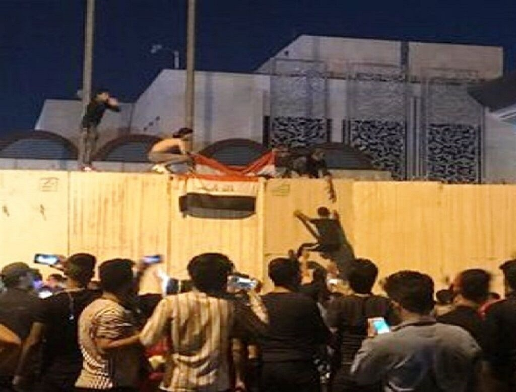 بازداشت عامل حمله به کنسولگری ایران در نجف