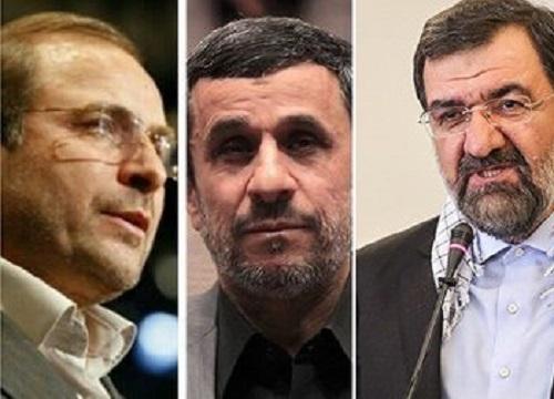 آیا رضایی، قالیباف و احمدینزاد مدعی ریاست مجلس میشوند؟/ اینبار راه ریاست بهارستان از پاستور میگذرد!
