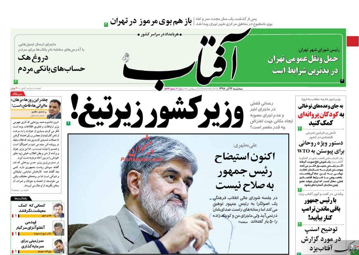 رمزگشایی از سخنان جنجالی روحانی/ آیا معافیت بازیگران میلیاردی از مالیات، عدالت مالیاتی است؟ / ناگهان تمام در سطل زباله افتادیم!