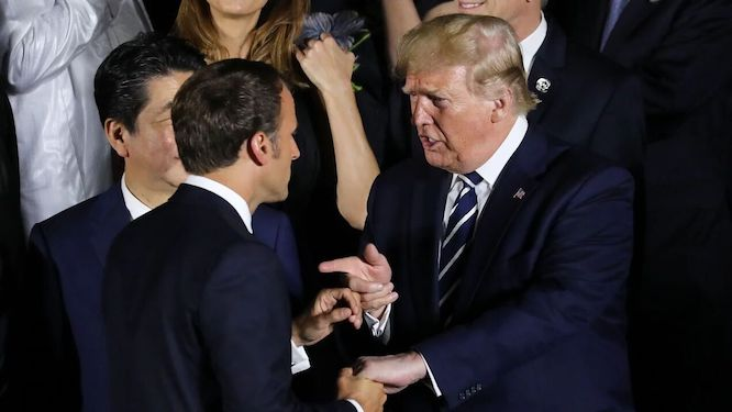 آمادهباش آمریکا برای جنگ دیجیتالی و تجاری با فرانسه