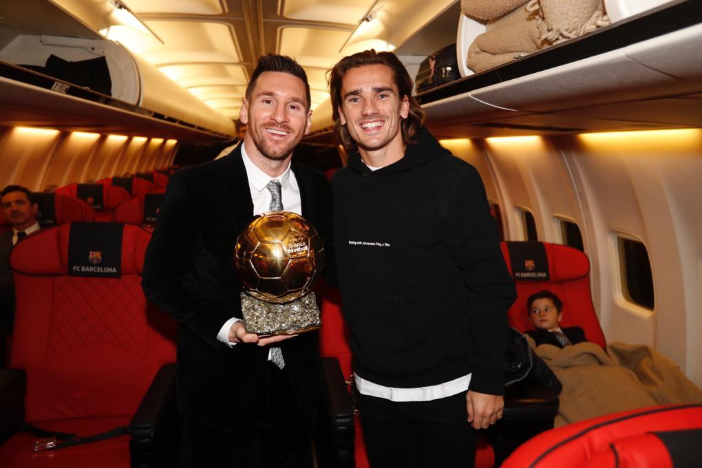 لیونل مسی برای ششمین بار صاحب توپ طلای فوتبال جهان شد