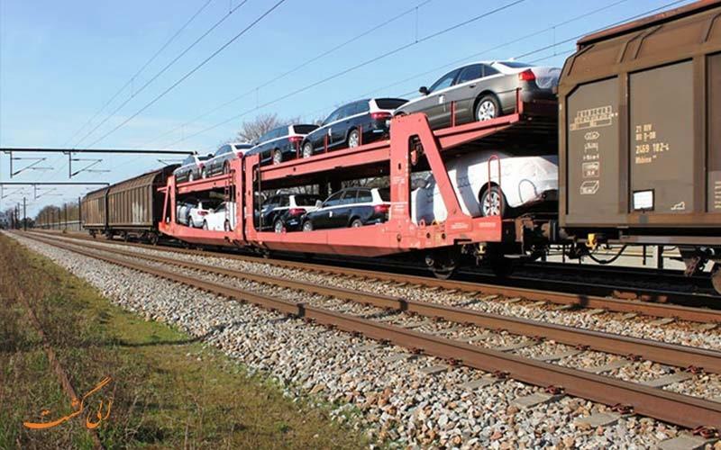 خودروی خود را با قطار به سفر ببرید!