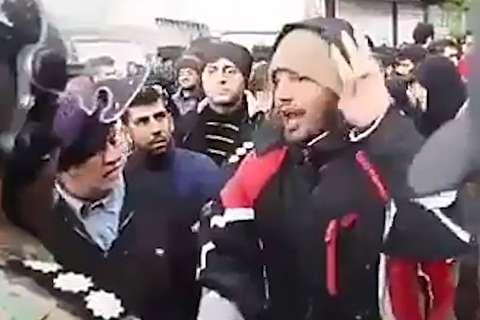 حرفهای برخی معترضین در تجمعات بنزینی