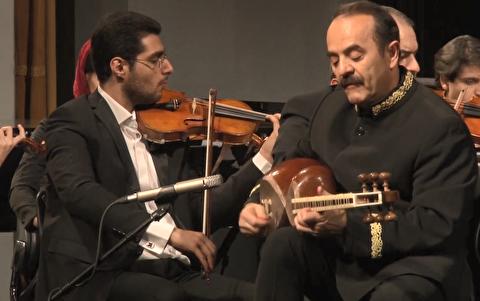اجرای ارکستر ملی ایران با کیوان ساکت