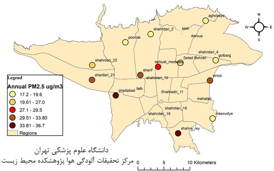 آلودگی هوا در سال ۹۷ جان حدود ۳۴۵۰ نفر را در تهران گرفت!