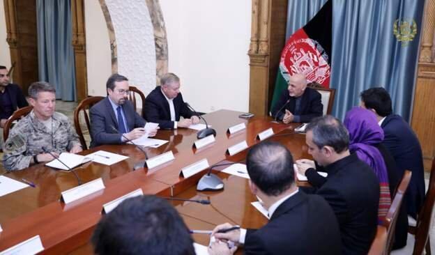خروج نیروهای آمریکا از افغانستان بزودی اعلام میشود