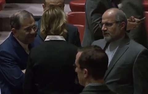 ملاقات سفرای ایران و آمریکا در سازمان ملل