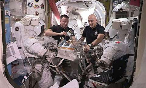 انجام چیزی شبیه «عمل قلب باز» در فضا