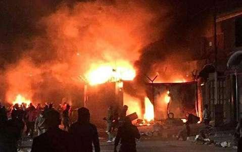 حمله به کنسولگری ایران در نجف