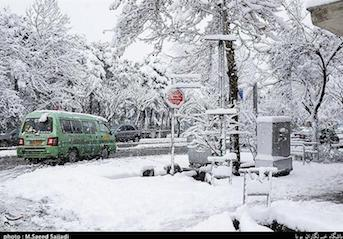 بارش برف و باران در کشور آغاز شد