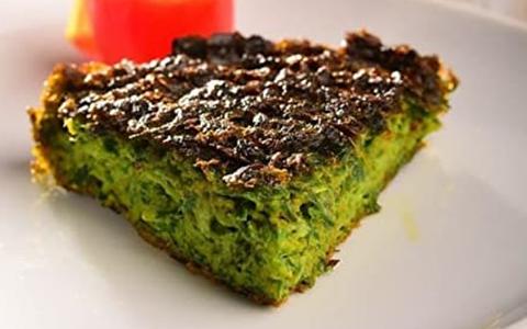 طرز تهیه کوکوی سبزی مجلسی