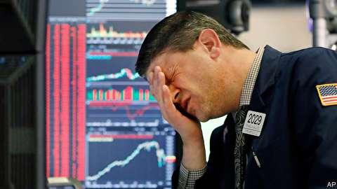 وحشت سرمایهگذاران از کاهش ۲۵ درصدی ارزش بورسهای جهان