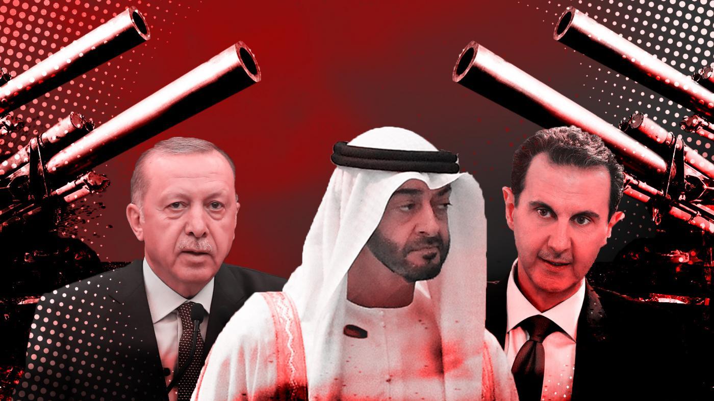 توافق 3 میلیارد دلاری ولیعهد امارات با بشار اسد برای از سرگیری حملات به ادلب!