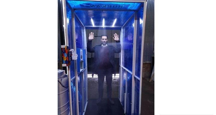 ساخت تونل ضدعفونی کننده برای ویروس کرونا