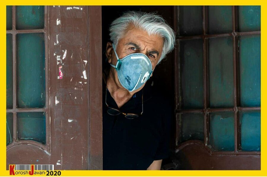 تصاویر/ ژستهای مبارزه با کرونای بازیگران سینما