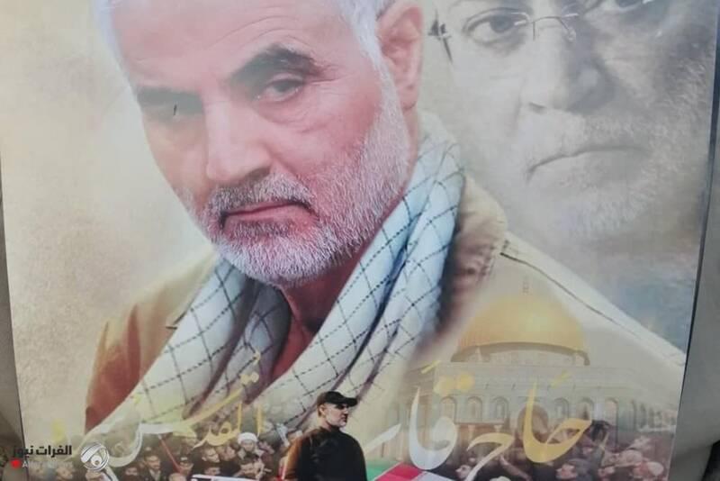 مراسم و راهپیمایی باشکوه مردم عراق در سالروز شهادت فرماندهان مقاومت