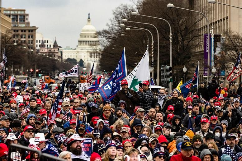 طرفداران ترامپ در واشنگتن تظاهرات کردند