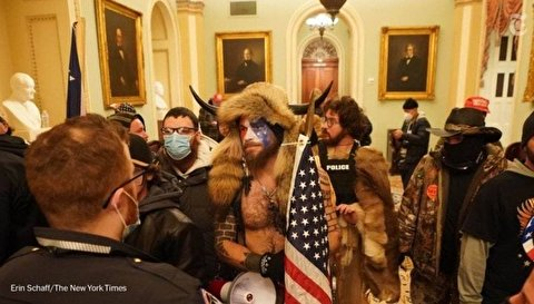 درگیری خونین در کنگره آمریکا