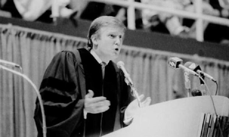 دکترای افتخاری ترامپ باطل شد
