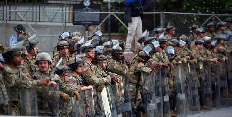 حفاظت از مراسم تحلیف بایدن توسط ۱۵ هزار گارد ملی