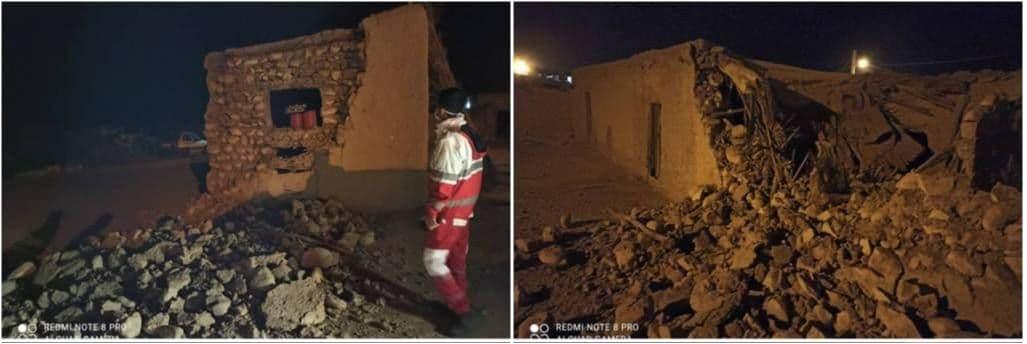 اسکان اضطراری ۱۲۰ زلزله زده