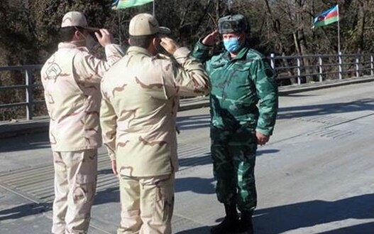 ملاقات مرزی مرزبانان ایران و جمهوری آذربایجان در آستارا