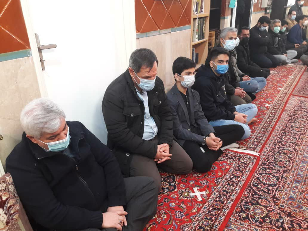 مراسم پرفیض شهادت بانوی دوعالم در دارالقرآن شهید سامانی