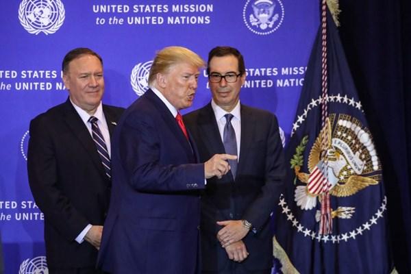 بیانیه وزارت امور خارجه درباره تحریم ترامپ و مقامات آمریکایی