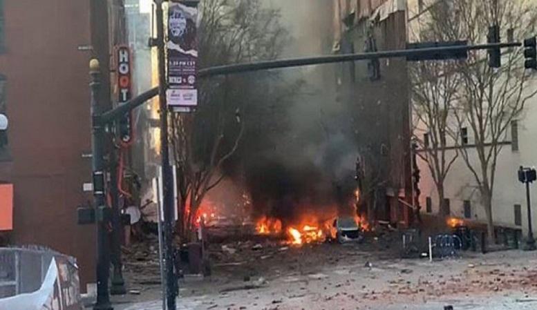 شناسایی فردی مرتبط با انفجار نشویل آمریکا