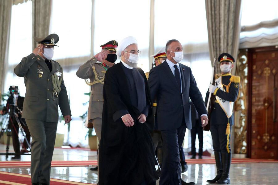 سفر غیرمنتظره هیأتعراقی به تهران به دستور الکاظمی