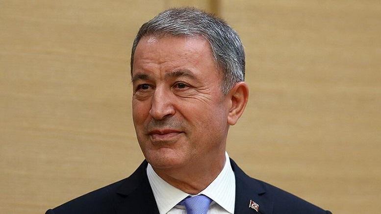 دیدار وزیر دفاع ترکیه با رئیس اقلیم کردستان عراق