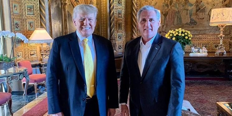 دیدار رهبر جمهوریخواهان با ترامپ